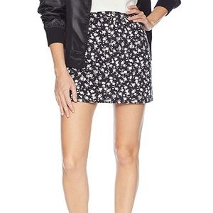 NEW // Calvin Klein floral black denim skirt - NWT